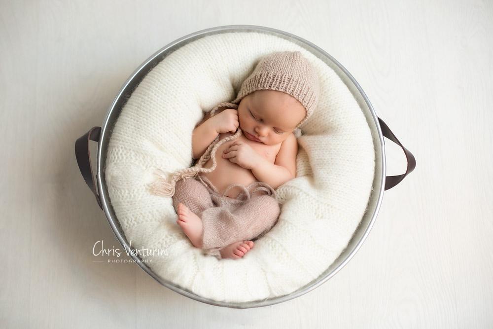 Sesión recién nacido Chris Venturini Photography