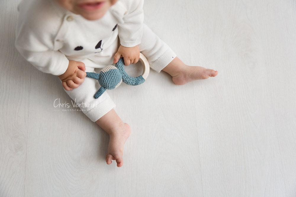 Sesión de fotos de bebé en La Moraleja
