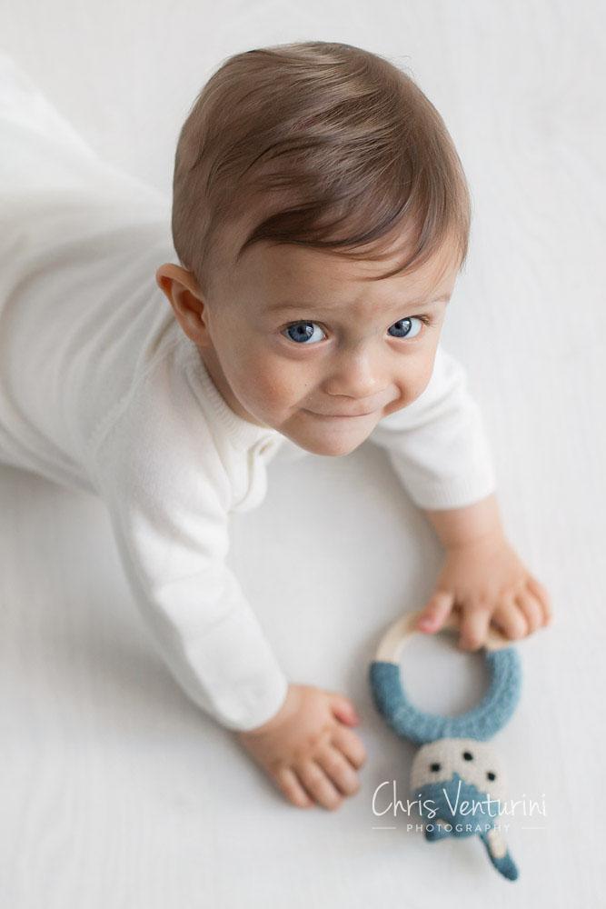 Sesión de fotos de bebé en Madrid