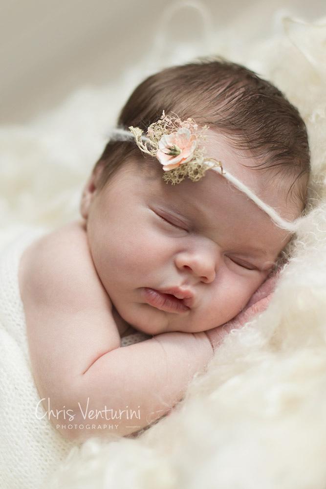 Sesión profesional de recién nacido