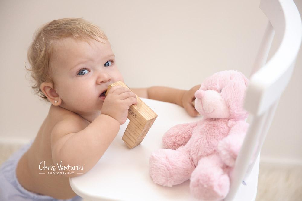 Martina, 9 meses