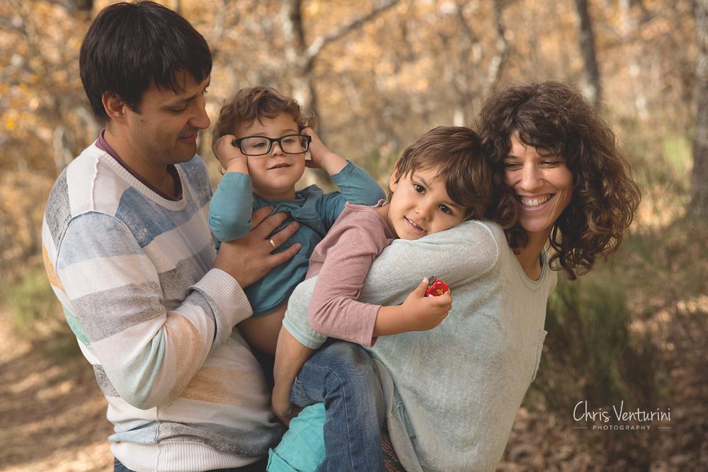 Sesión de familia en exteriores, Las Tablas
