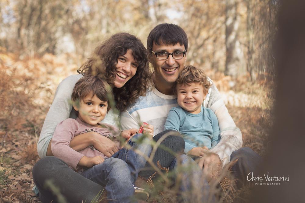 Sesión de familia en exteriores, La Moraleja