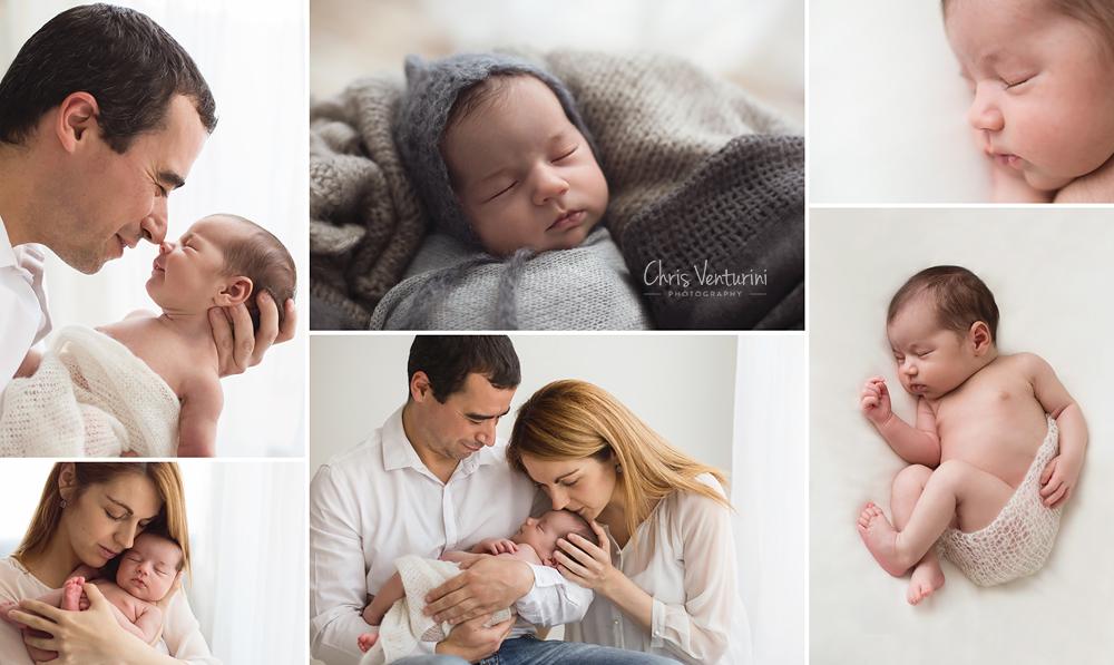Fotografías de recién nacidos diferentes