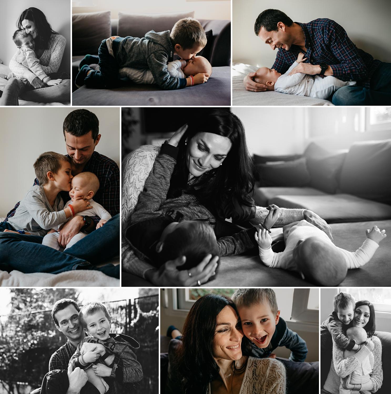Sesiones de fotos de familia a domicilio