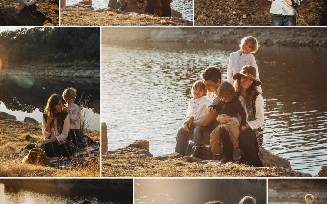 Sesiones de fotos de familia en exteriores