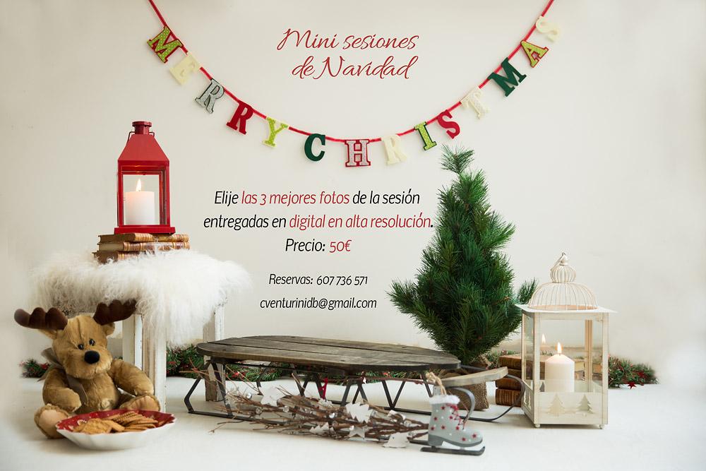 Mini sesiones de Navidad