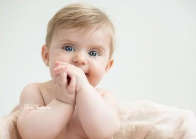 Sesión de fotos bebés diferentes