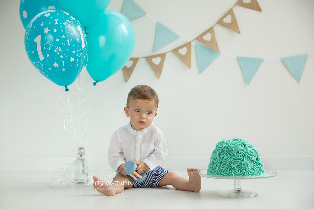 Noah y su tarta de cumpleaños