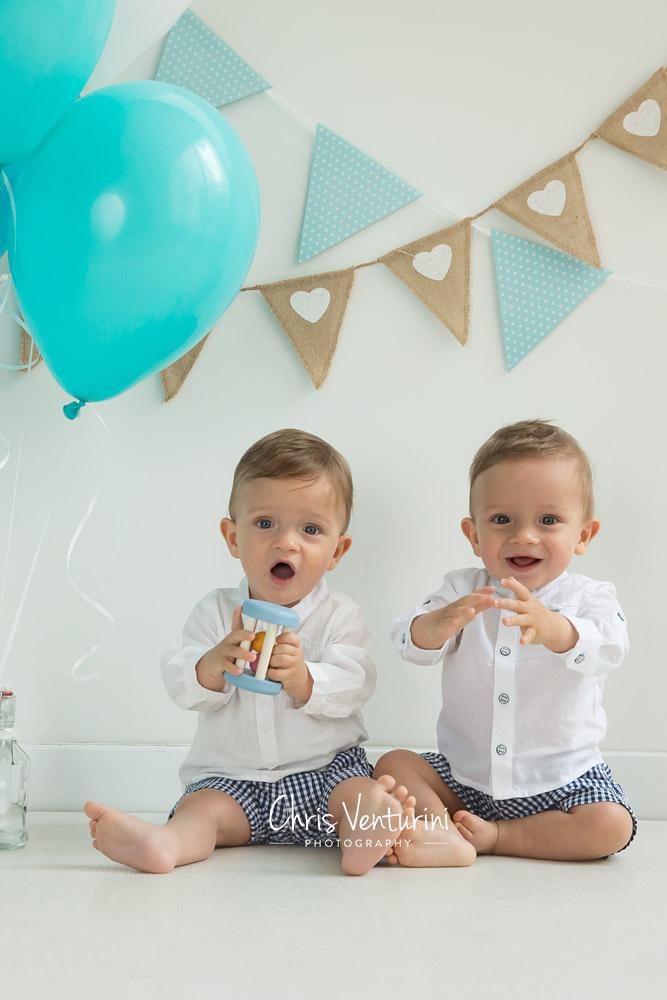 Noah y Mathis felices