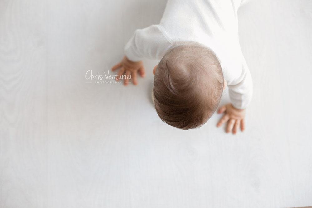 Sesión de fotos de bebé en Valdebebas