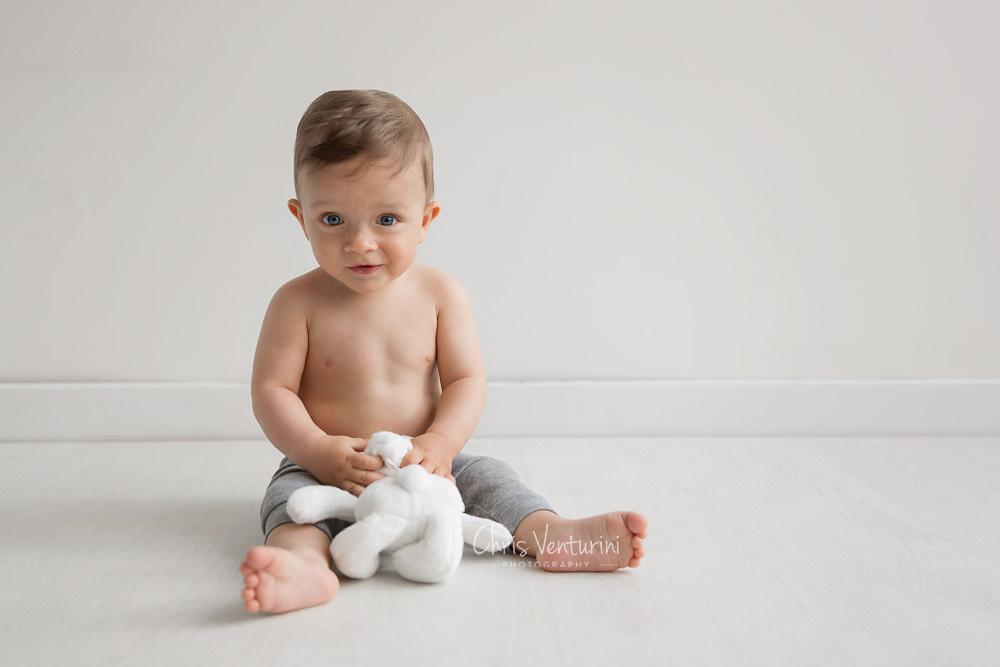 Fotografía profesional de bebé en Madrid