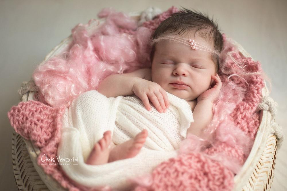 Fotografía de recién nacido en Sanchinarro