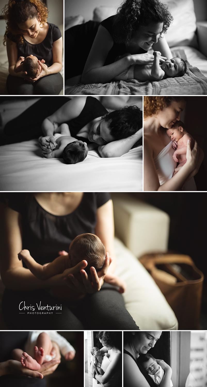fotos de recién nacido naturales en casa
