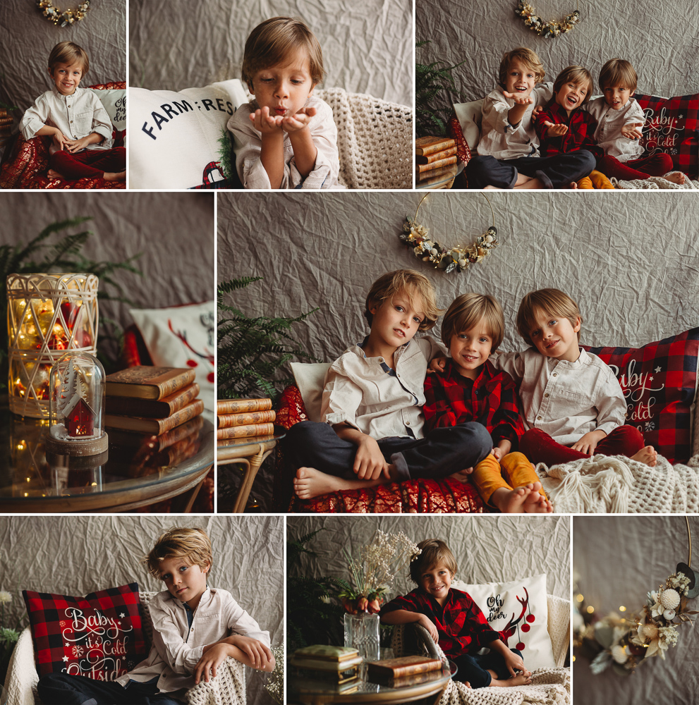 Mini sesión de Navidad